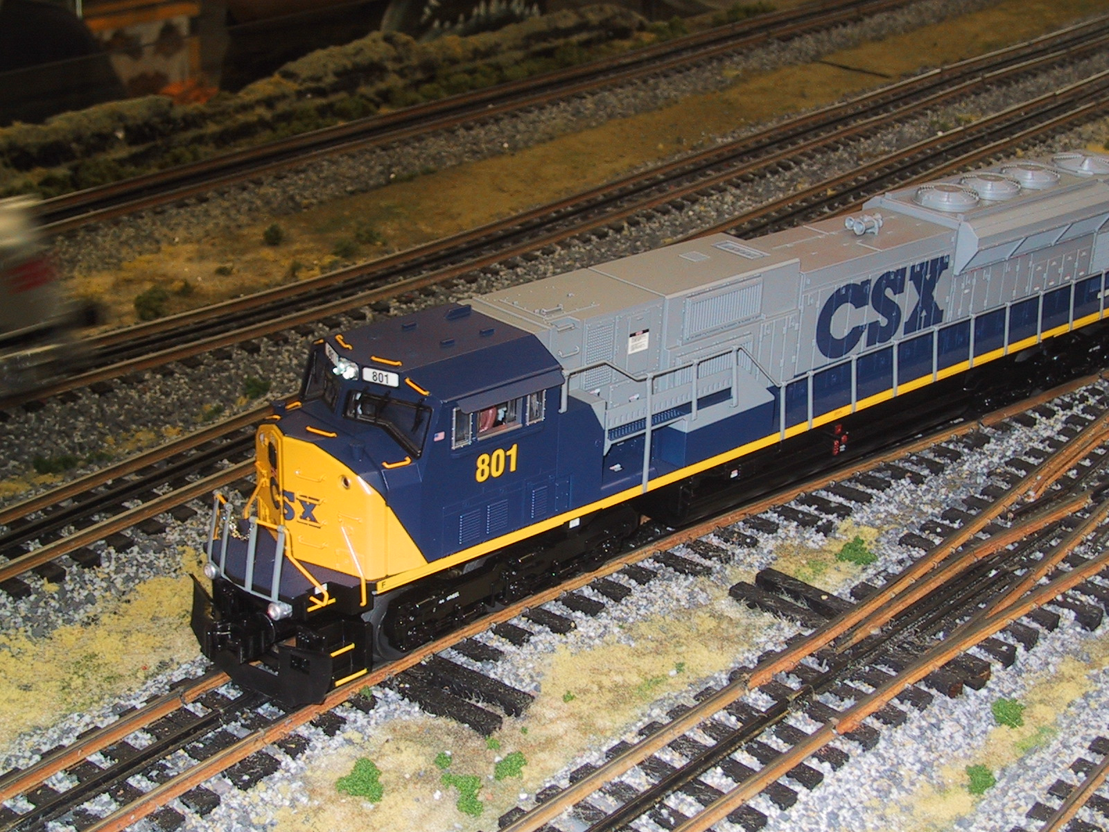 CSX Enters the Main