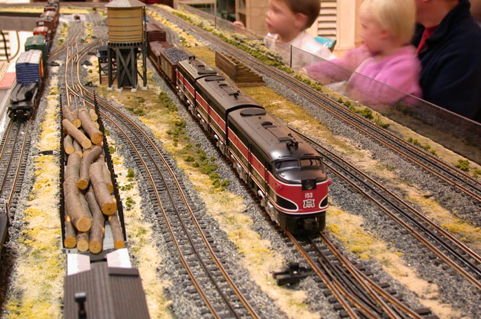 # Monthly Operating Session:  Rock Island Diesels by Williams