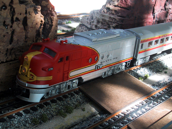 # Monthly Operating Session:  Santa Fe Speedster to Richmond  CA